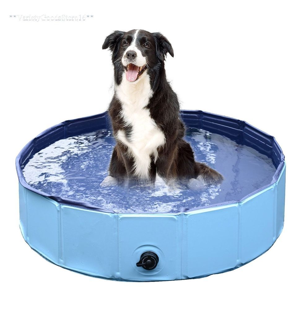Dog Bath Pool Small Size Foldable Collapsible Puppy Pet Washing