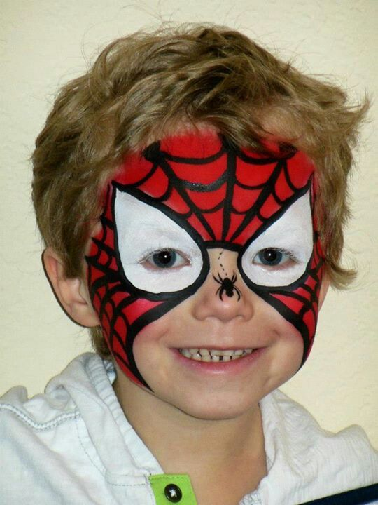 Spider-Man Visit www.facebook.com/funfacecreations