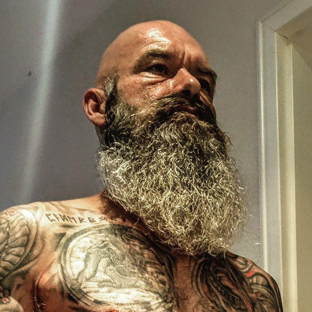Baldbeardedinked Bigbeard Glatzeundbart Fullbeard Vollbart Tattoo Glatze Glatze Und Bart Glatze Vollbart