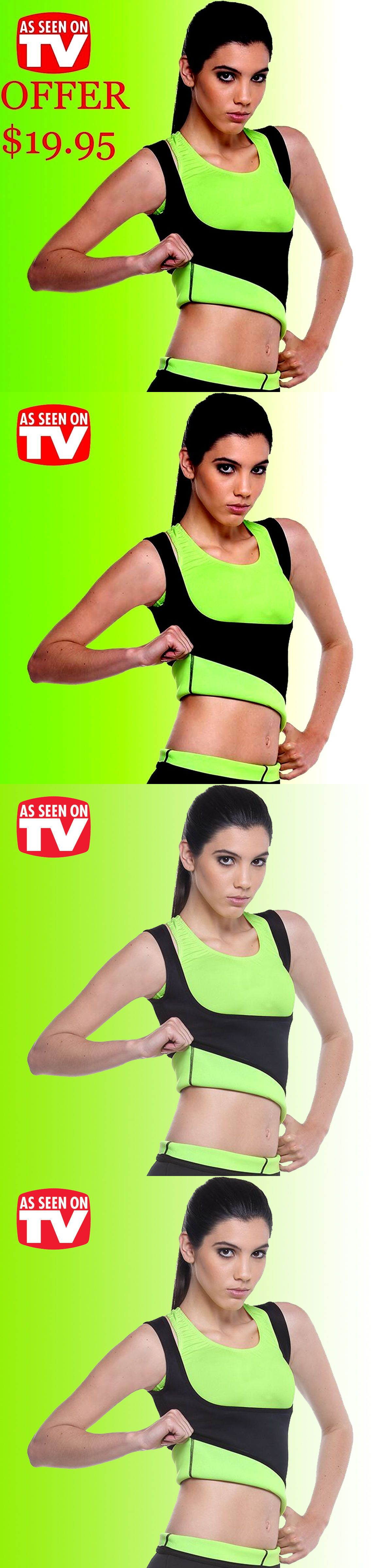 c1bc71e84f Other Womens Fitness Clothing 13360  Medium Cami Redushaper Shaper Shirt  Neoprene Mujer Slimmingbelt Hot Redu