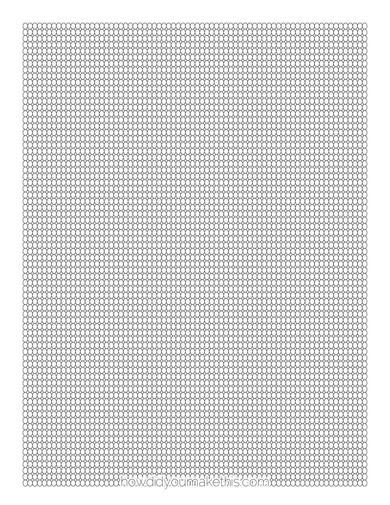 free loom graph paper search seed pattern
