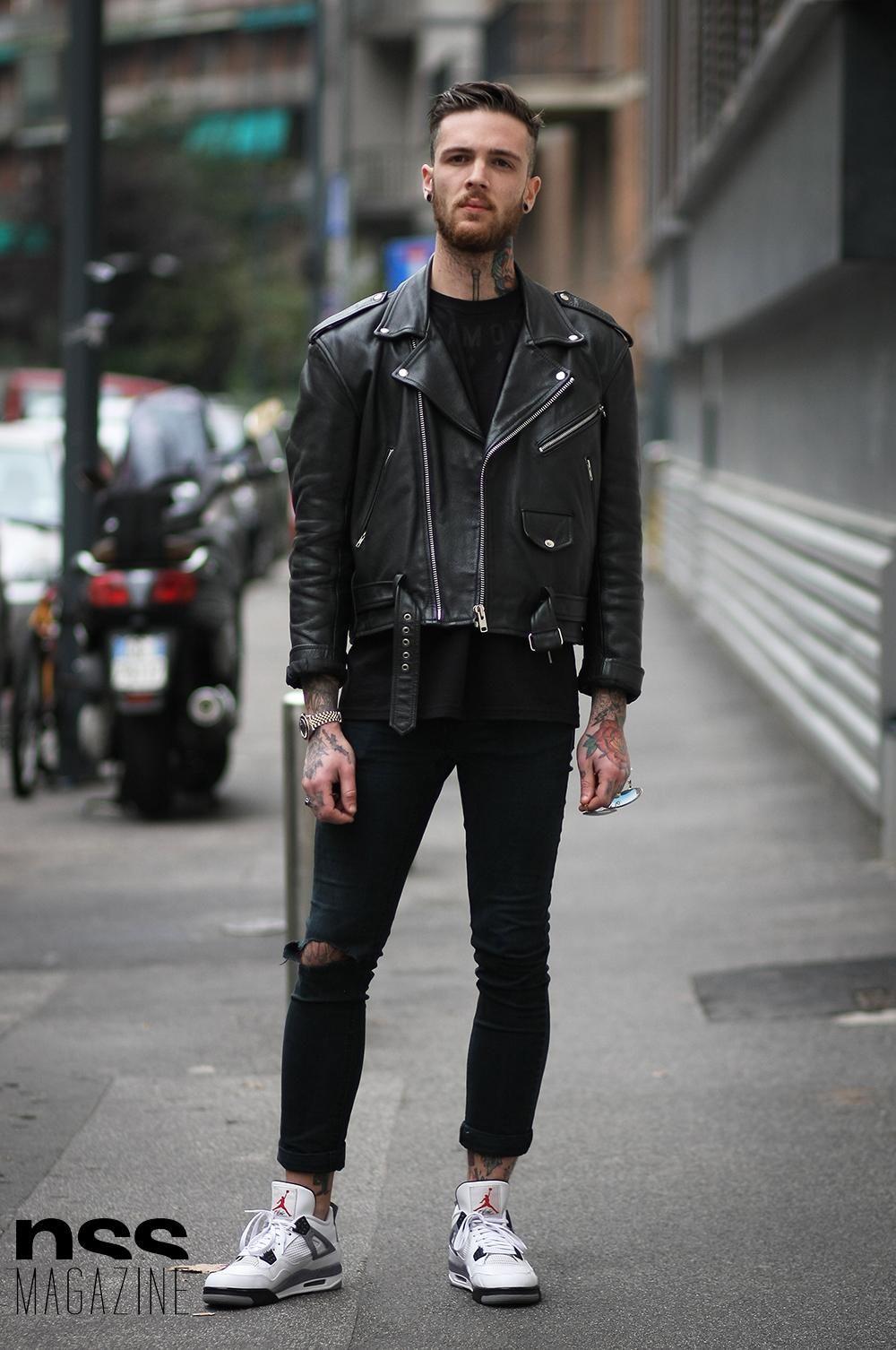 Federico Galdangelo Streetstyle In Milan Menswear