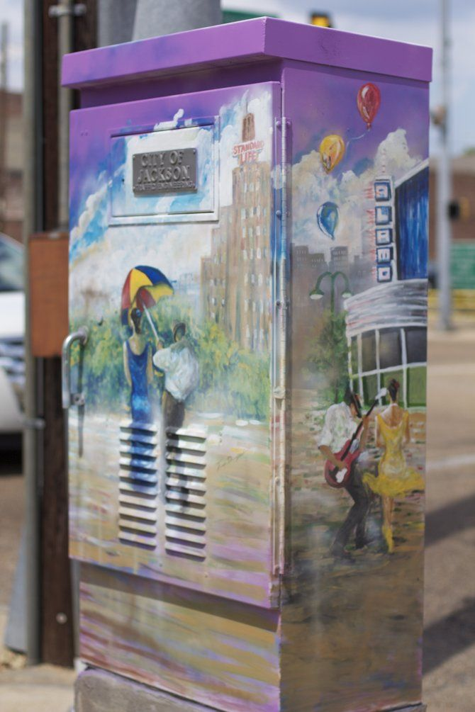 Traffic Box Art, Jackson, Mississippi My personal favorite