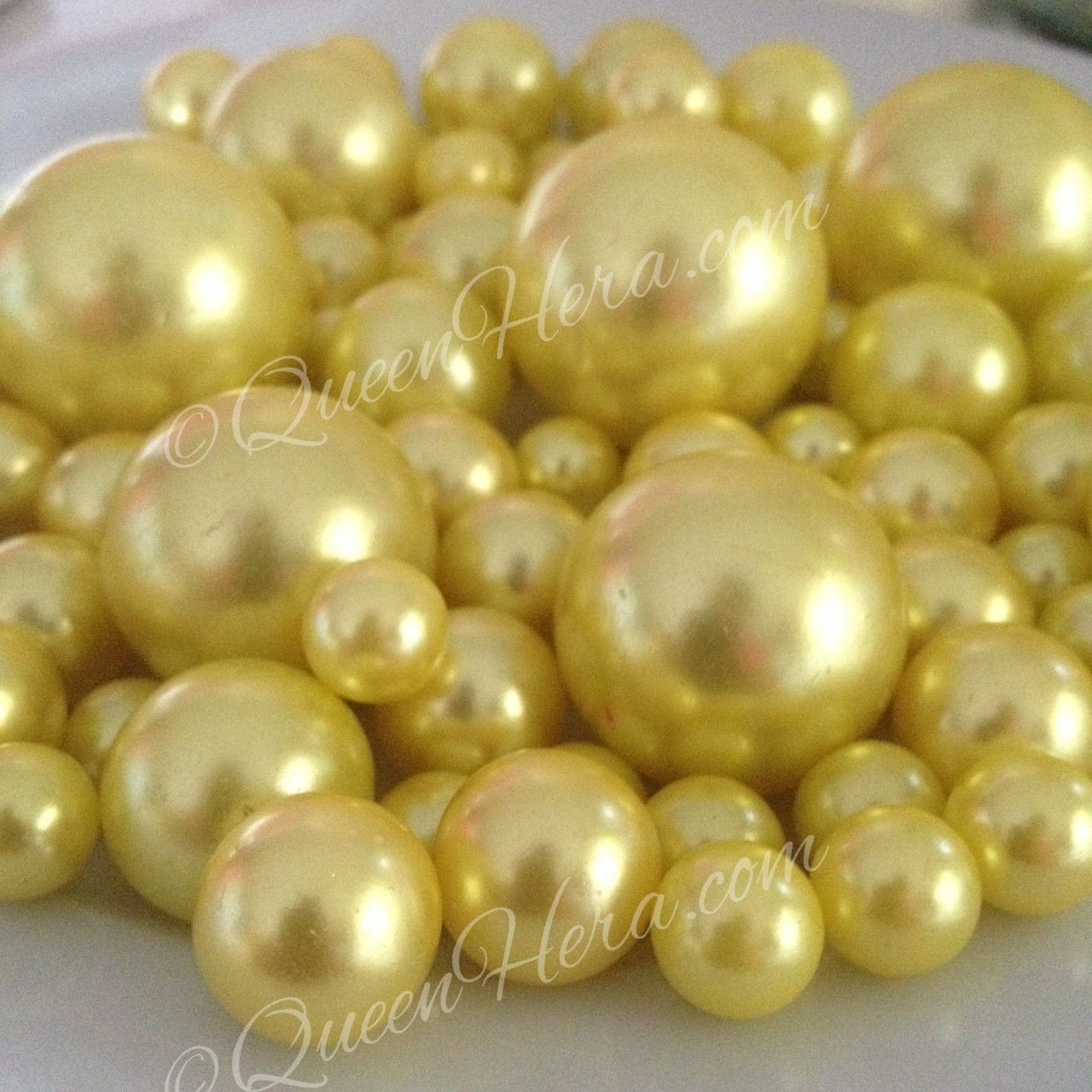 white and from pearls on beads stock picture photo fabric yellow