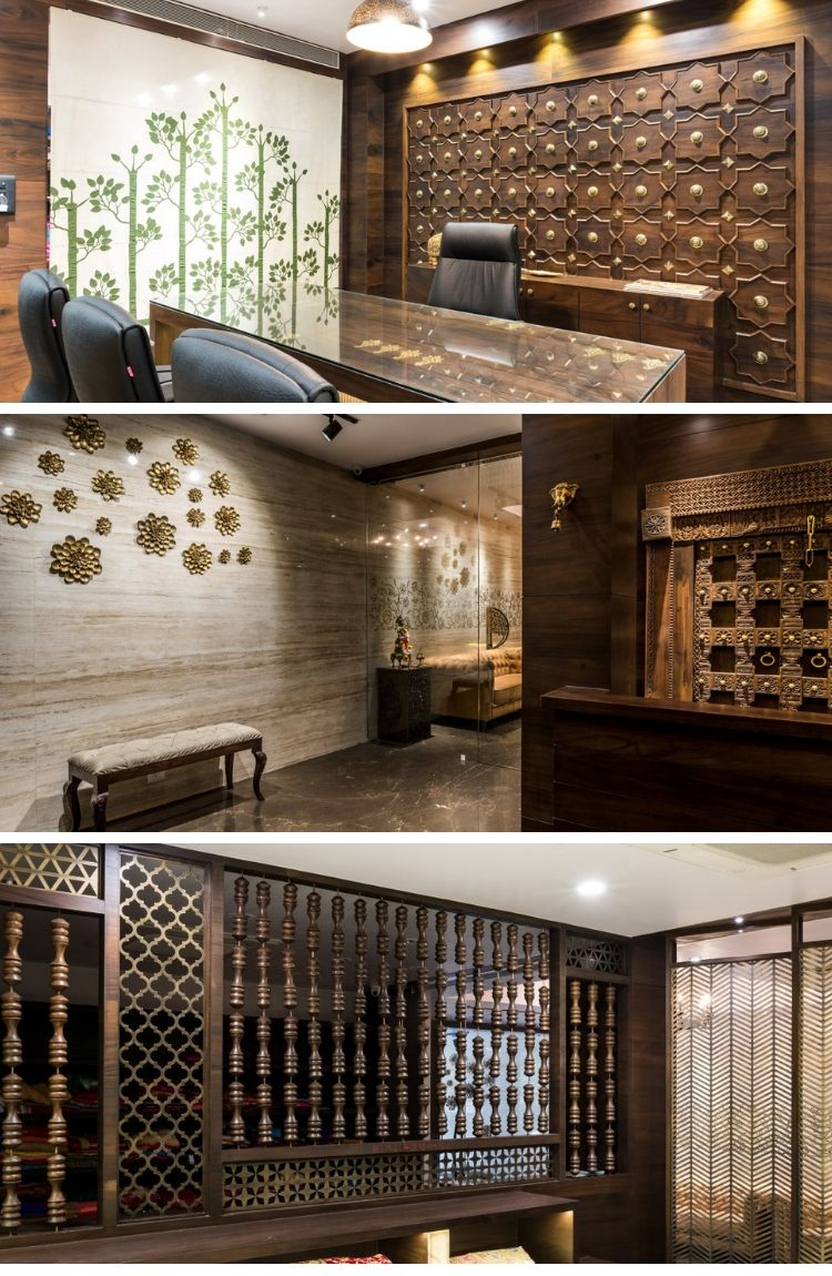 Ethnic wedding boutique rust the design studio kiosk traditional house also an industrial apartment dotted with memories foyer pinterest rh
