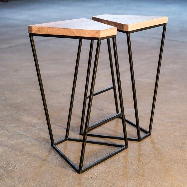 Tabouret Structure Arne Concept Meuble Bois Metal Meuble Metal Mobilier Metallique