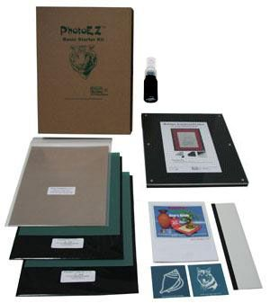 Silk screen printing starter kit