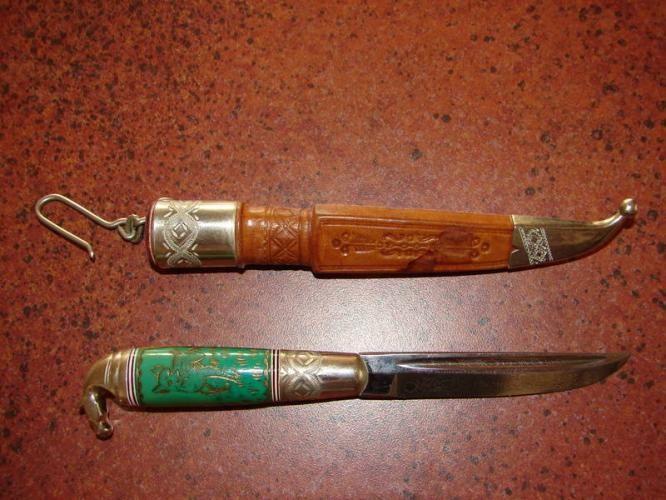 Vintage Finnish Puukko Knife