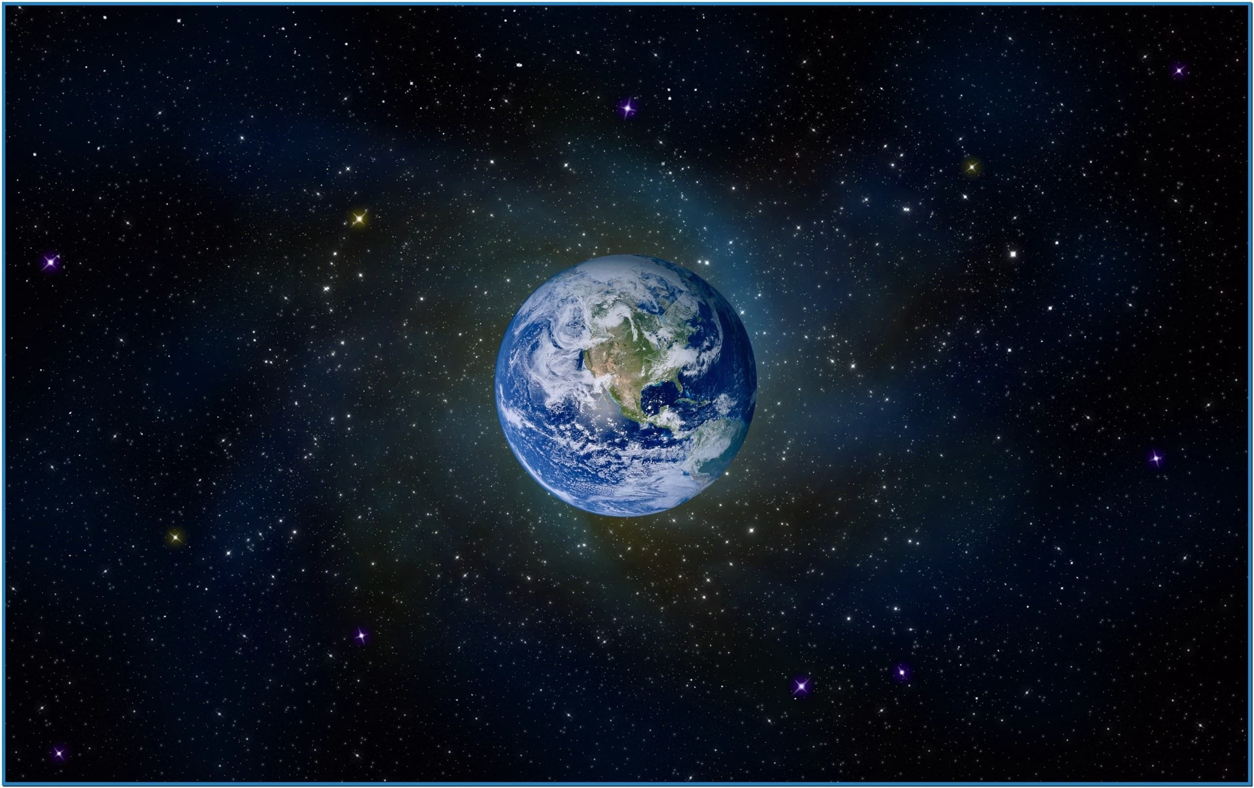 Cool Earth 3d Screensaver And Planet
