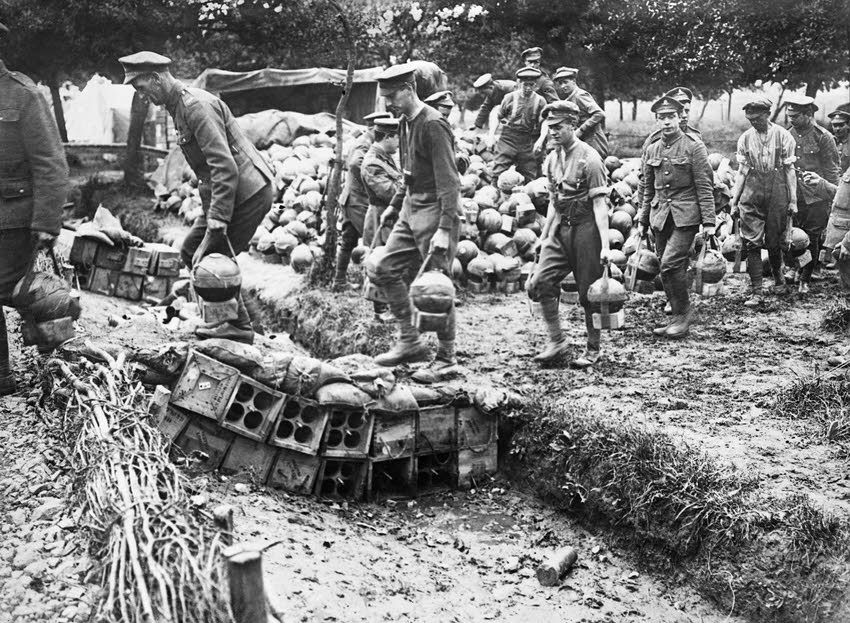 Image result for ww1 british toffee apple mortar
