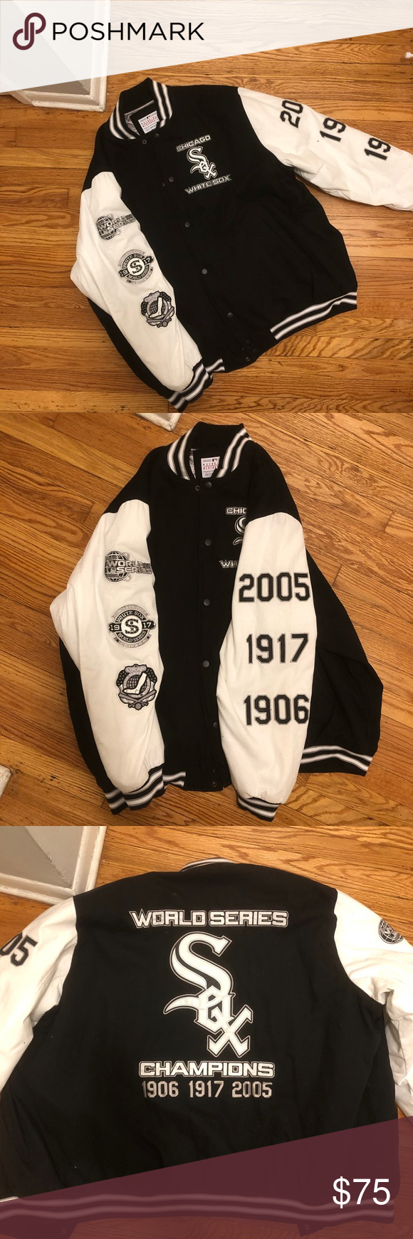 Official Chicago White Sox Bomber Jacket Jackets Bomber Jacket Chicago White Sox [ 1740 x 580 Pixel ]