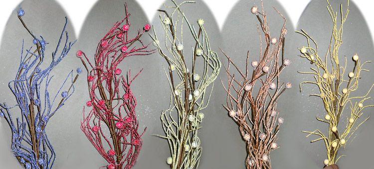 Ветки в напольную вазу  из 2