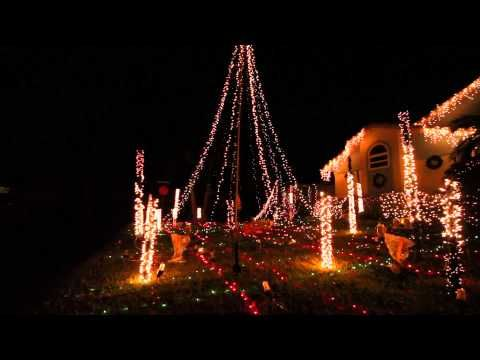 light up florida 2012 animated christmas lights display 1080p - Animated Christmas Light Displays