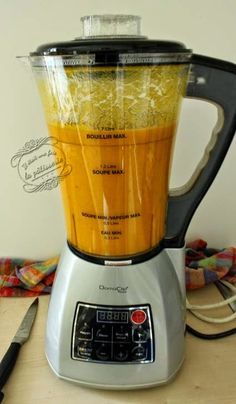 Soupe carotte cumin au blender chauffant | Soupe carotte