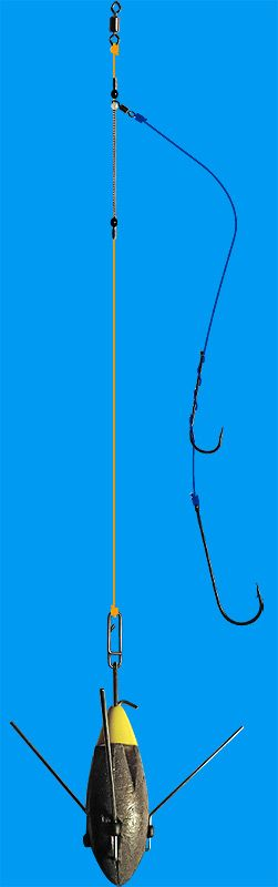 Sea fishing  rigs - build a clipped down pennel rig
