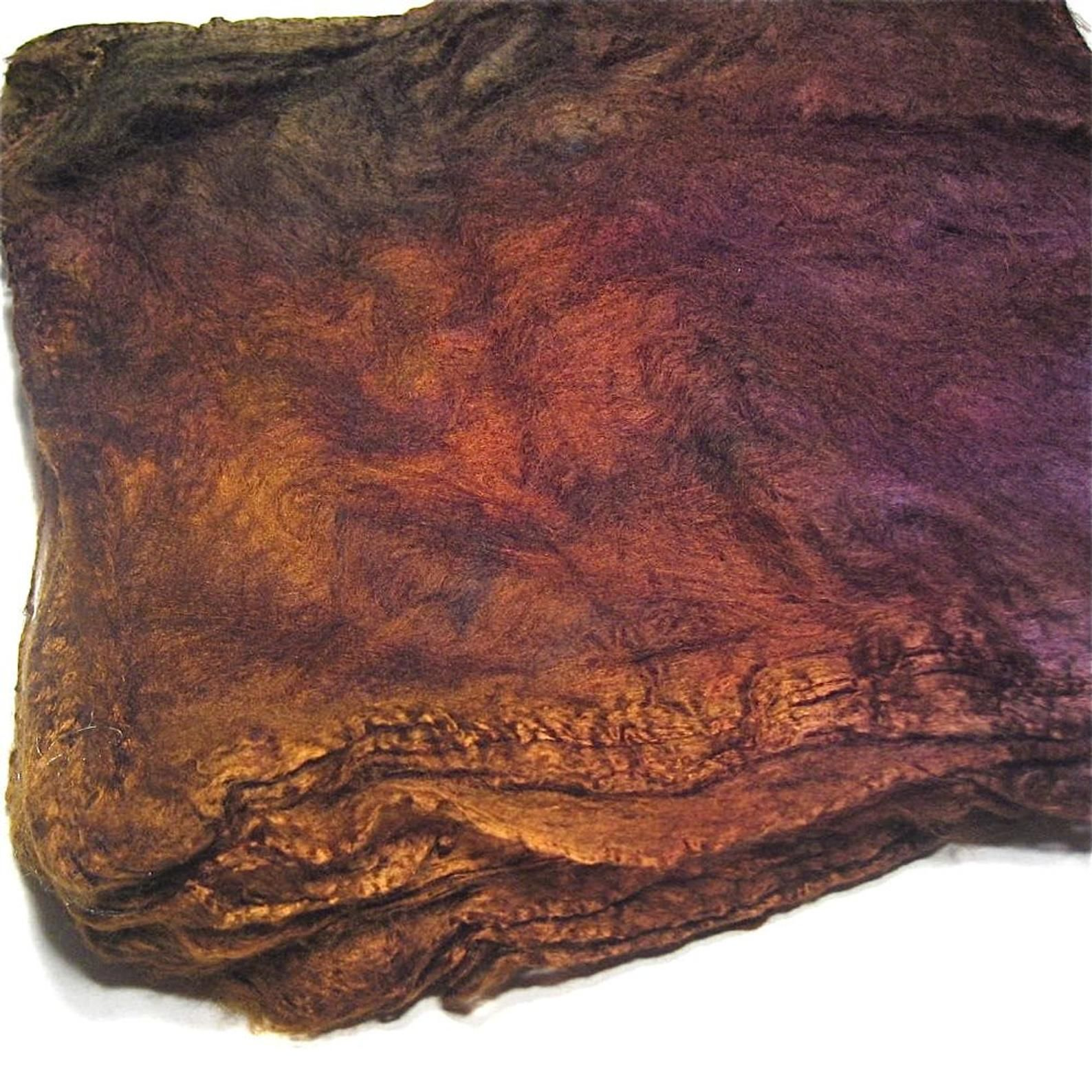 Mawata-hand-painted silk hankie
