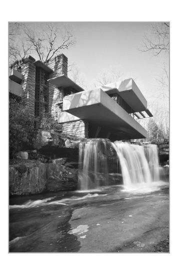 'Frank Lloyd Wright, Falling Water' Prints - | AllPosters.com