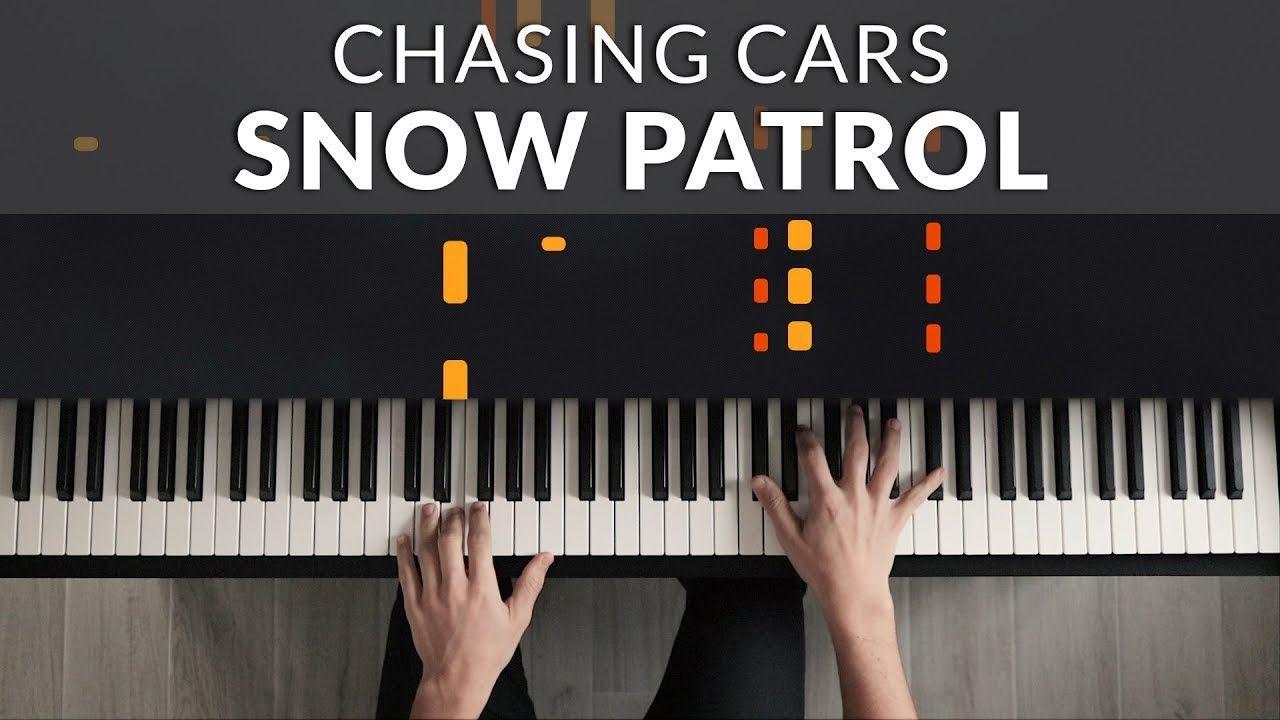 Snow Patrol Chasing Cars Francesco Parrino Piano Cover Tutorial Piano Cover Snow Patrol Chasing Cars Piano