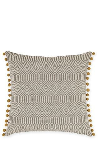 Large Woven Geo Cushion Online