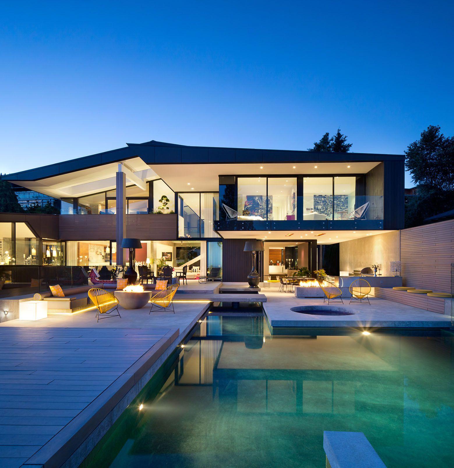 Gallery Of Groveland House Mcleod Bovell Modern Houses 5 Luxury Homes In Florida Luxury Homes Dream Home Design