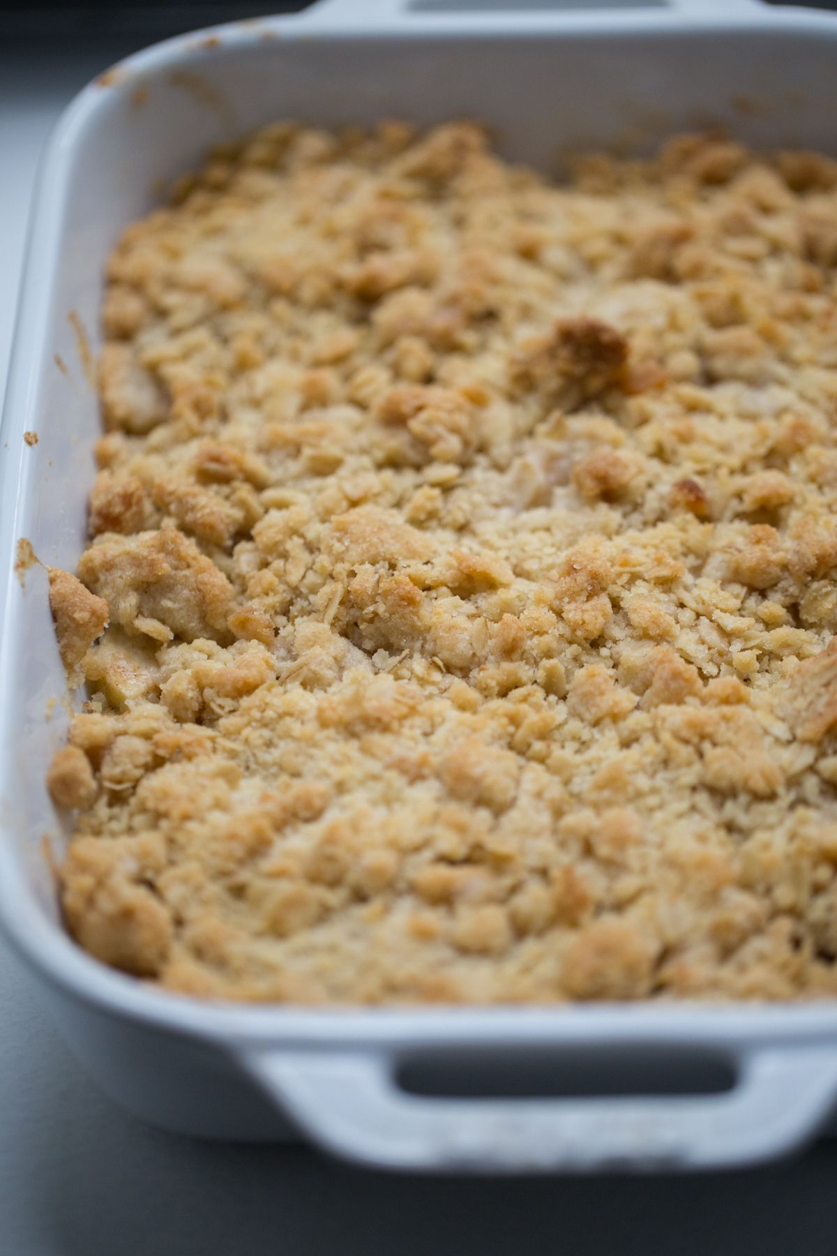 Buttery Apple Crisp Recipe | Lauren's Latest