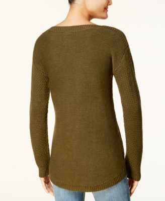 Hooked Up By Iot Juniors Cable Knit Sweater Cable Knit Sweaters
