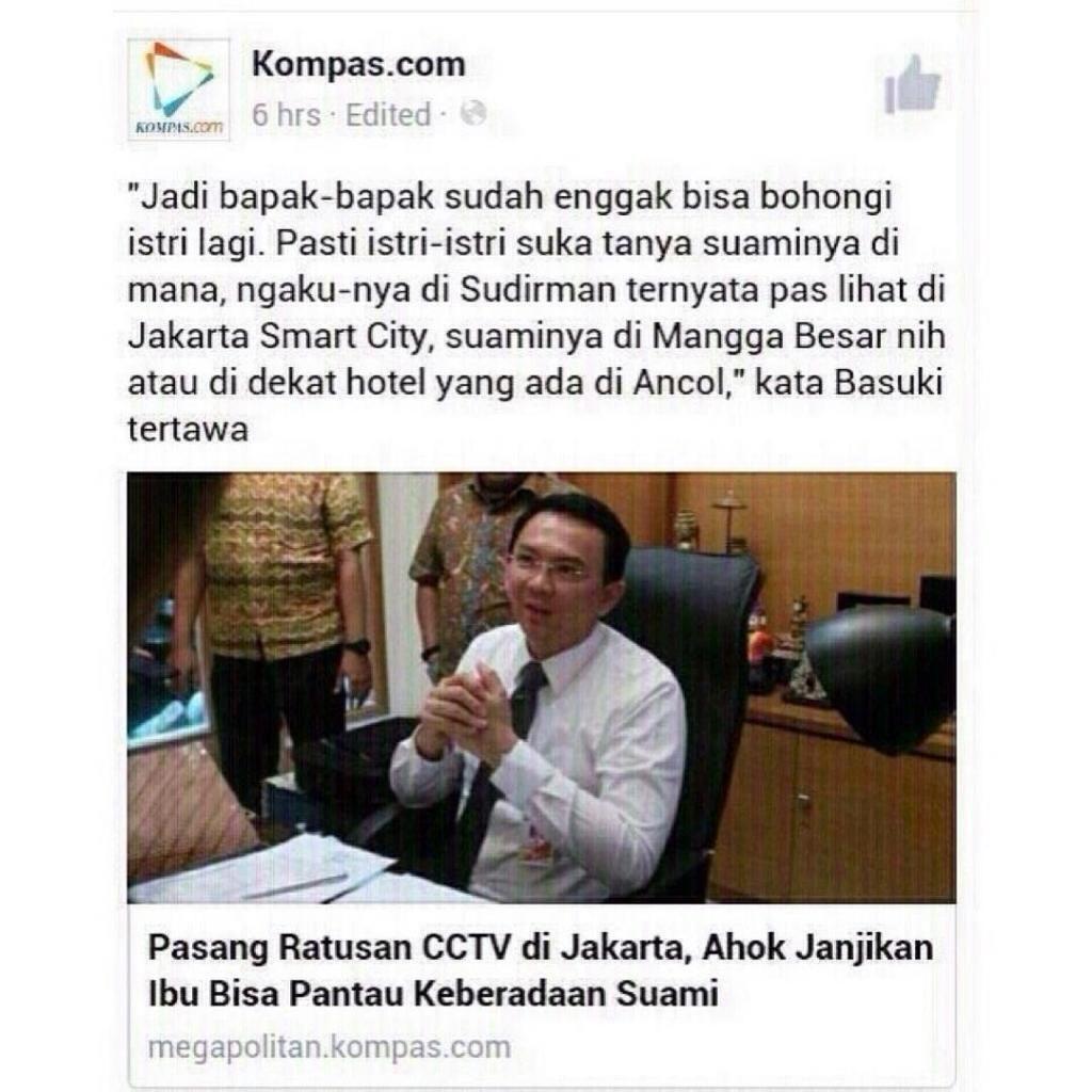 Ahok Membangkai X Jakarta PNS CCTV Humor Lucu Pinterest
