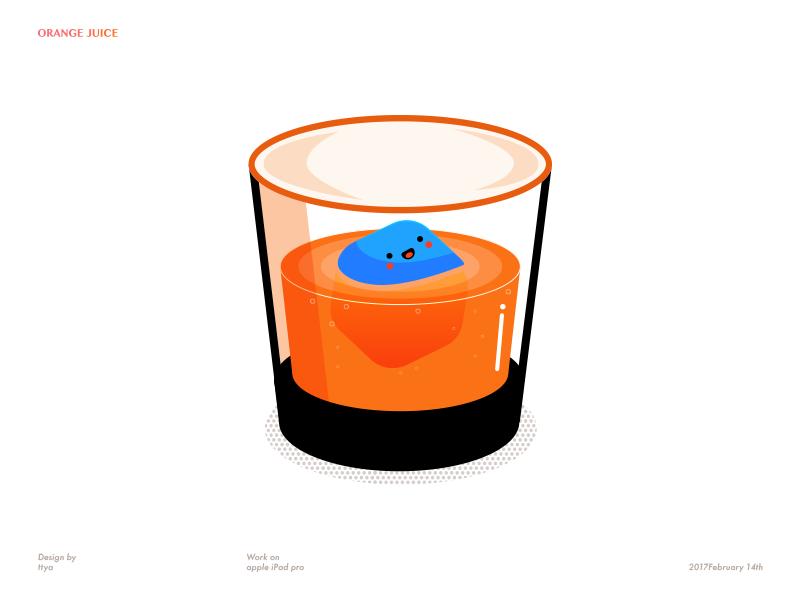 Orange Juice by ttya🦄