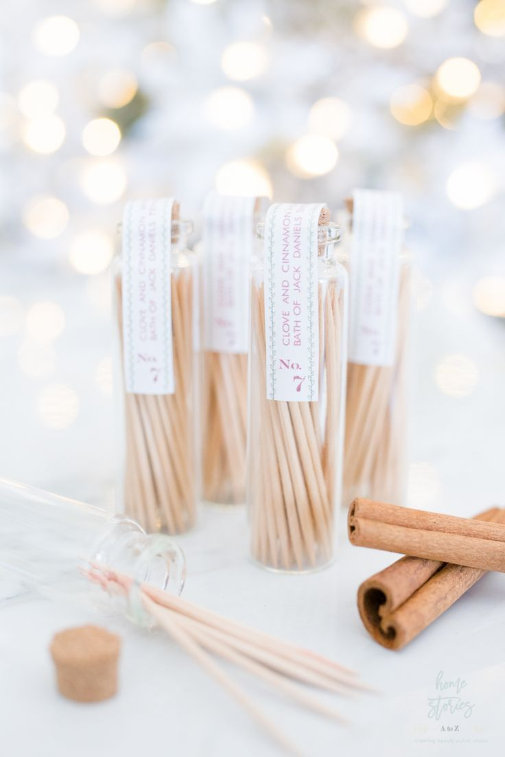 How to make whisky flavored toothpicks flavored