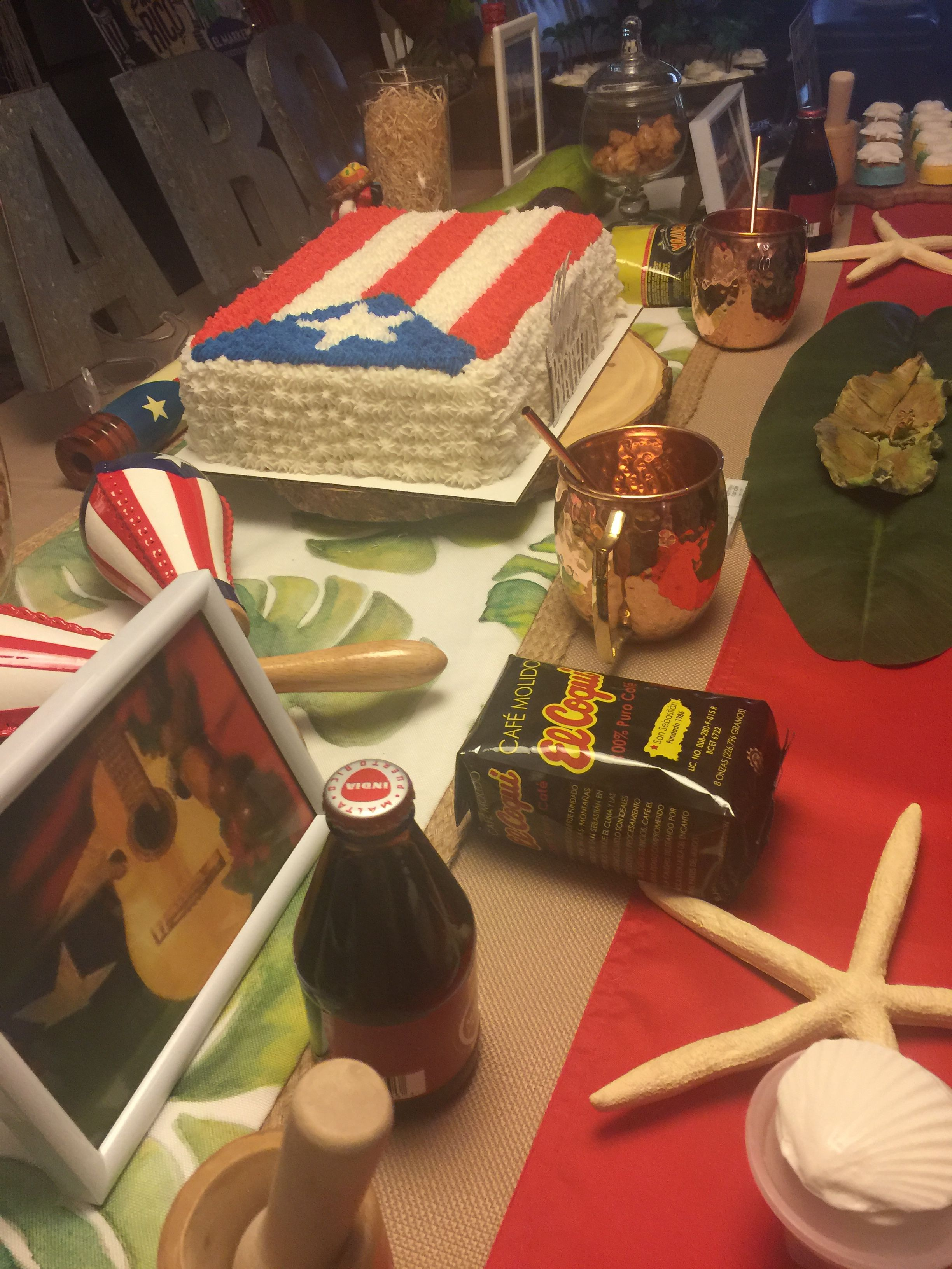 Puerto Rican Theme Birthday My Creations In 2019