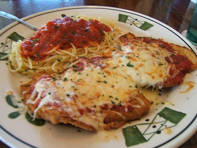 Eggplant Parmigiana Olive Garden In Calgary By Wynlok Via Flickr All About Food