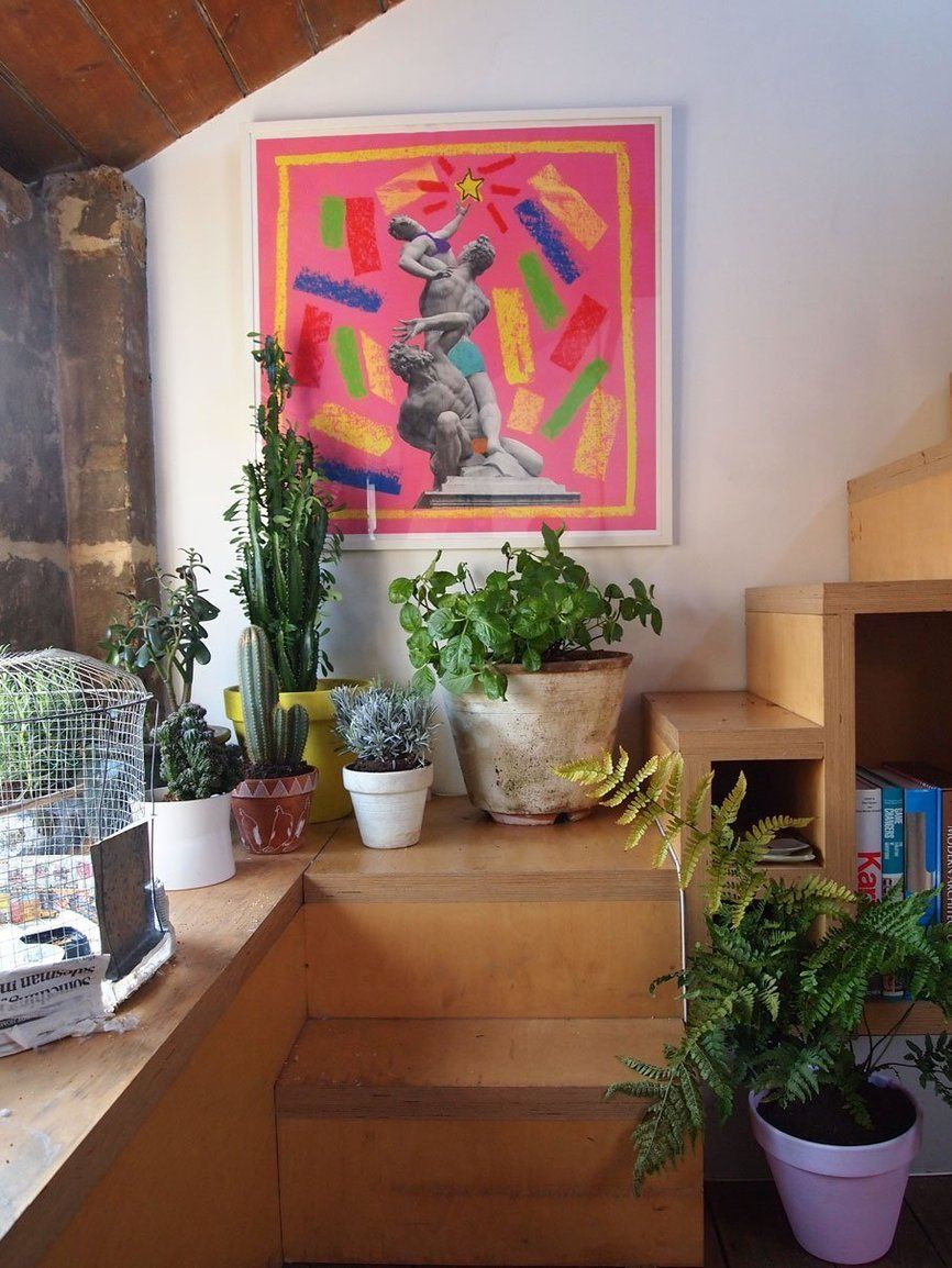 Jose & Oliver's Lofty Living in London London house