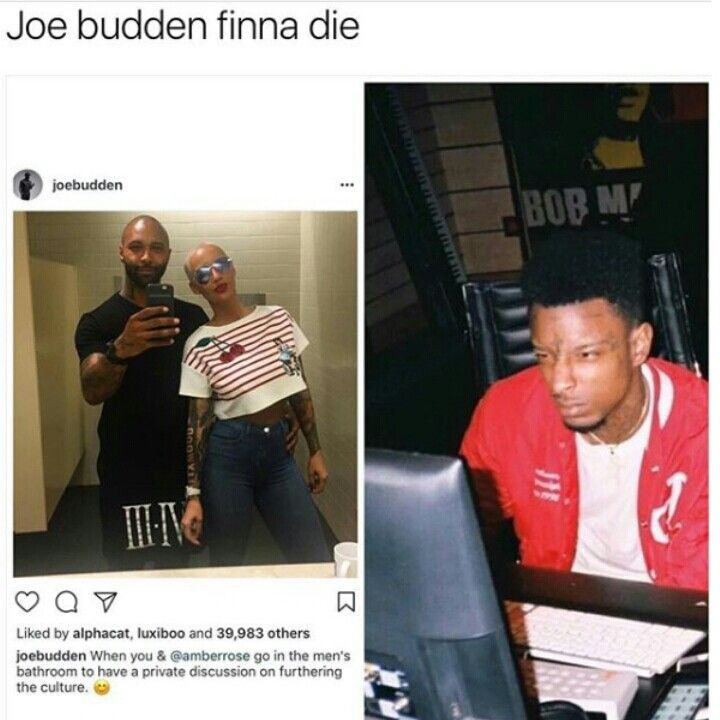 Attention Attention If You Want More Poppin Or Funny Pins Like This Follow Queentrini Thank You And Goodbye Joe Budden Funny Facts Funny Memes