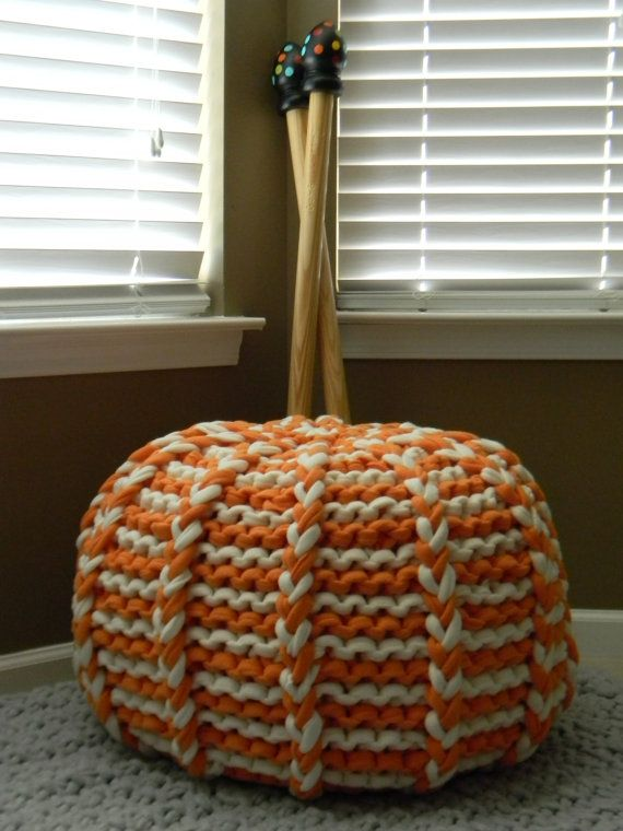 The Lucky Hanks Signature Pouf pattern Pattern Only by LuckyHanks ...