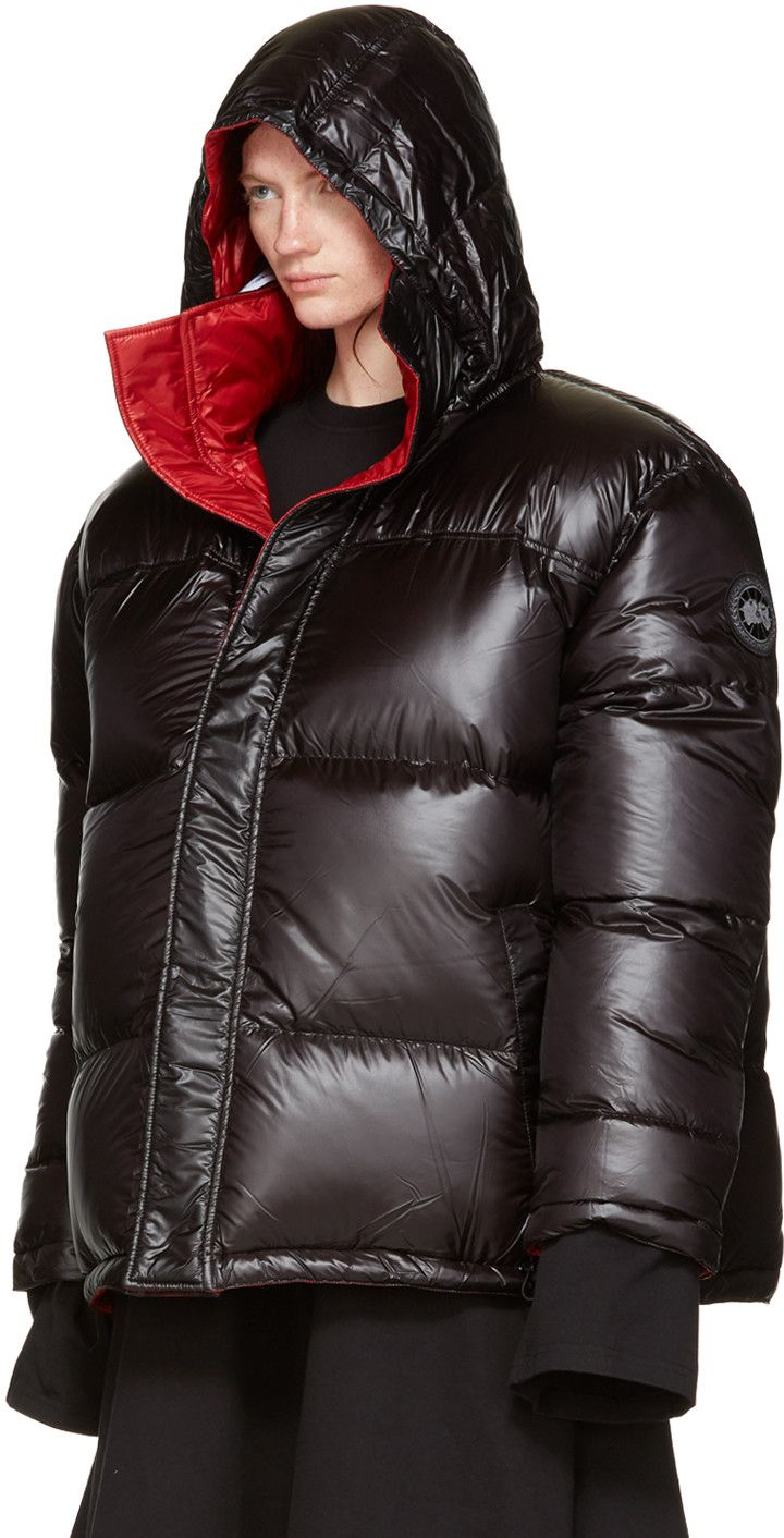 b56cbe29ea2a Vetements - Reversible Black Canada Goose Edition Down Coat ...
