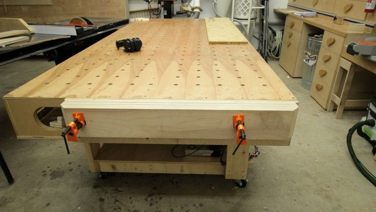 Jay Bates End Vise For Paulk Style Workbench Link For Plans