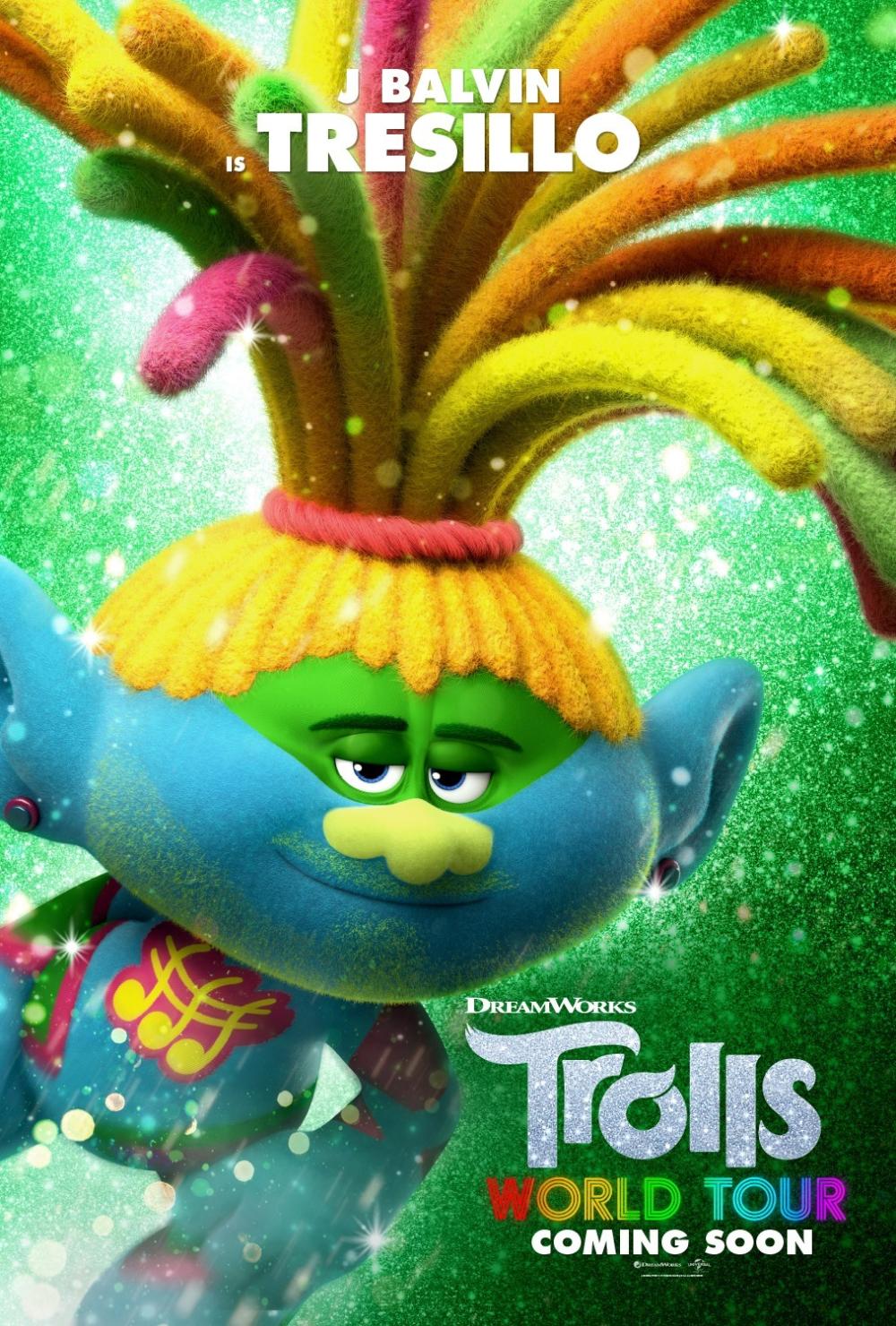 Постер мультфильма Тролли. Мировой тур (с изображениями ...