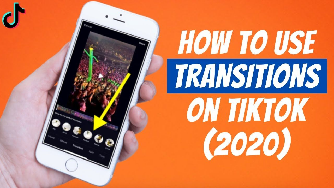 How To Use Transitions On Tiktok 2020 Add Smooth Transitions Feat Tik Tok Easy Tutorial Tok