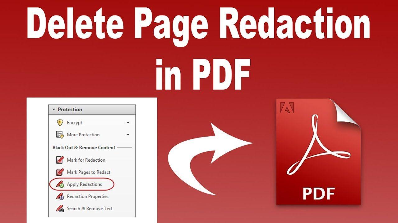 how to redact a pdf in adobe acrobat pro