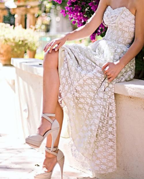 elegant long dress