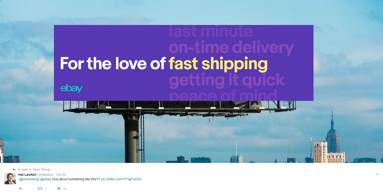Ebay S New Aggressive Marketing Strategy Revealed Billboard Advertising Marketing Strategy Billboard Design