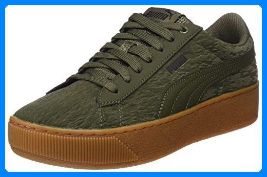 1f70a90038bbe4 Puma Damen Vikky Platform VR Sneaker