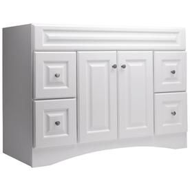style selections northrup white traditional bathroom vanity
