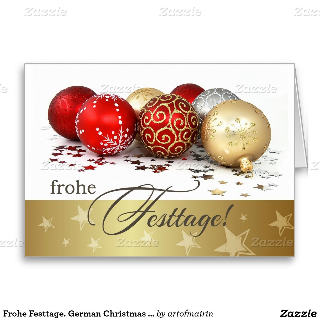 Frohe Festtage German Christmas Cards Christmas Holiday Part