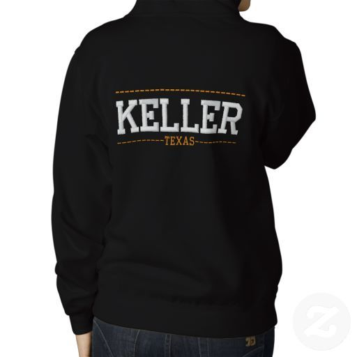 Keller Texas Usa Embroidered Women S Zip Hoodies Sweatshirts Sweatshirts Hoodie Zip Hoodies Womens
