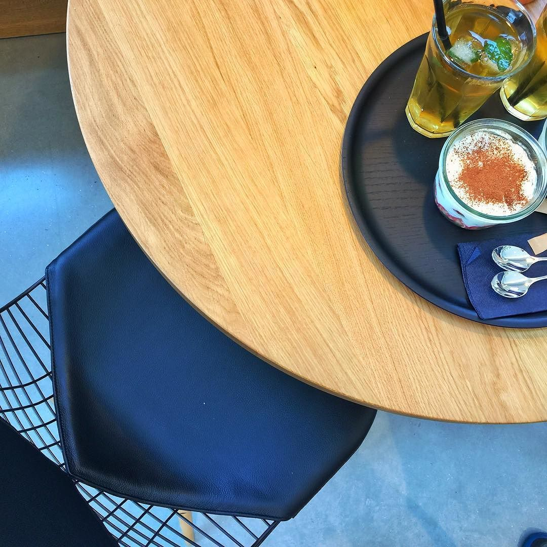 Enjoyed a lovely meal at the Cafe on the Vitra Campus. I would be a happy man if that was my morning coffee shop. #vitracampus #vitra #eames #hermanmiller