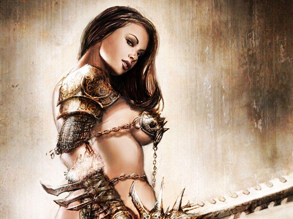 Karen bikini girl warrior