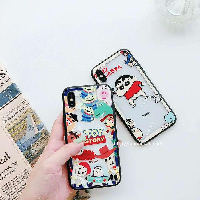 e159eef5aa 可愛い iPhone XSケース 強化ガラス クレヨンしんちゃん iPhone8/7plus ケース 強化ガラス 耐衝撃