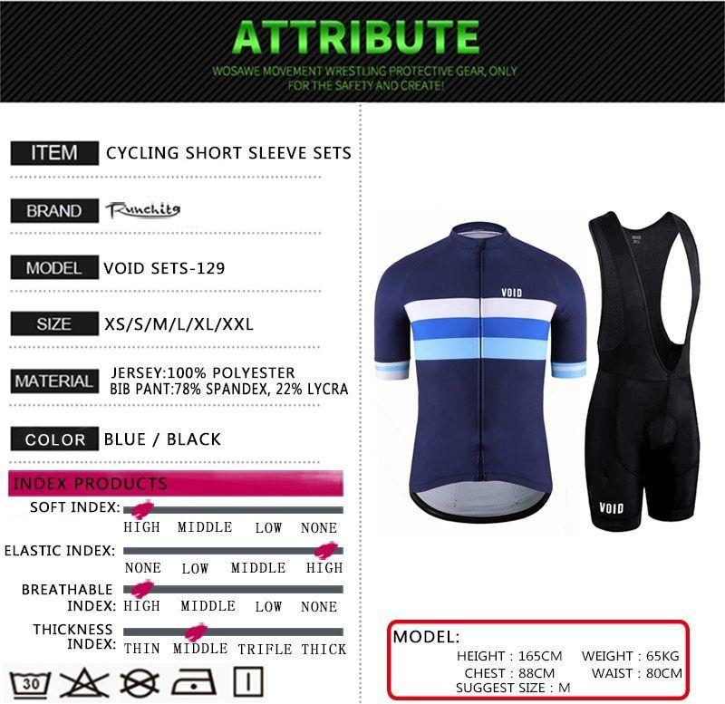 2019 Summer Men Cycling Jersey Sets Short Sleeve Road Bike shirt bib shorts suit