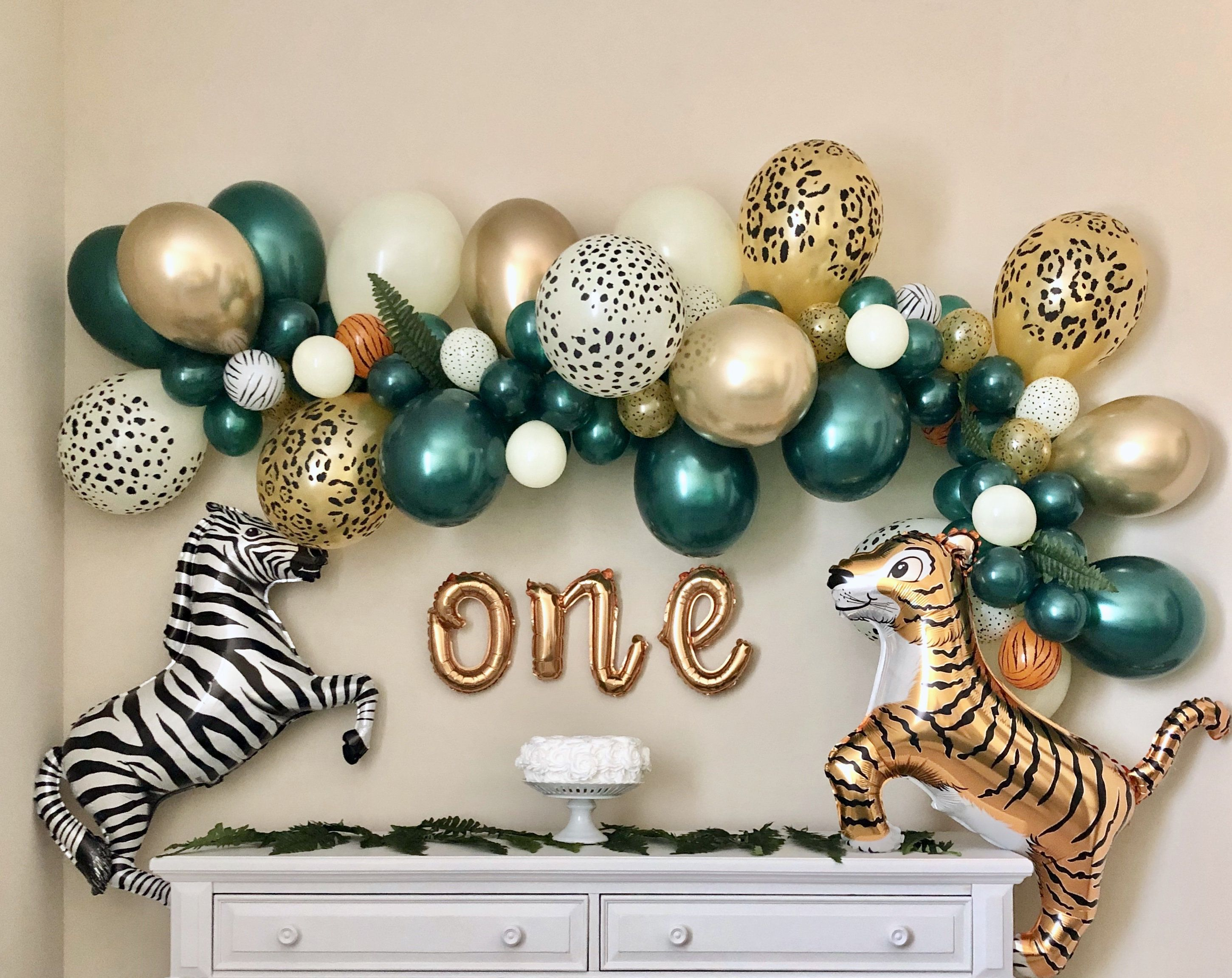 Photo of Balloon Garland DIY Kit~Safari Party~Wild One Party~First Birthday~Jungle Party~Wild One Theme~Wild One Birthday~Safari Theme~Jungle Theme